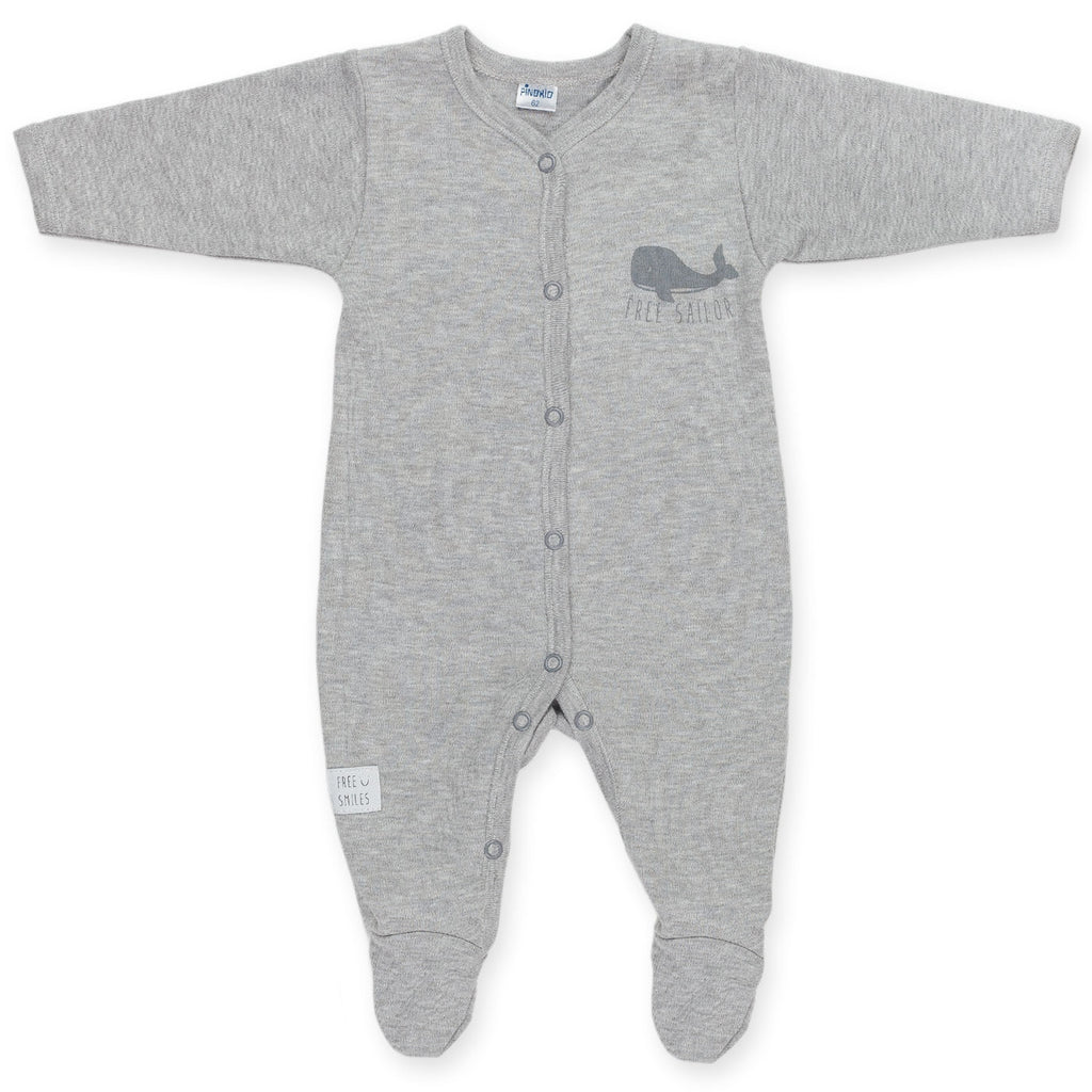 Grey Sleepsuit