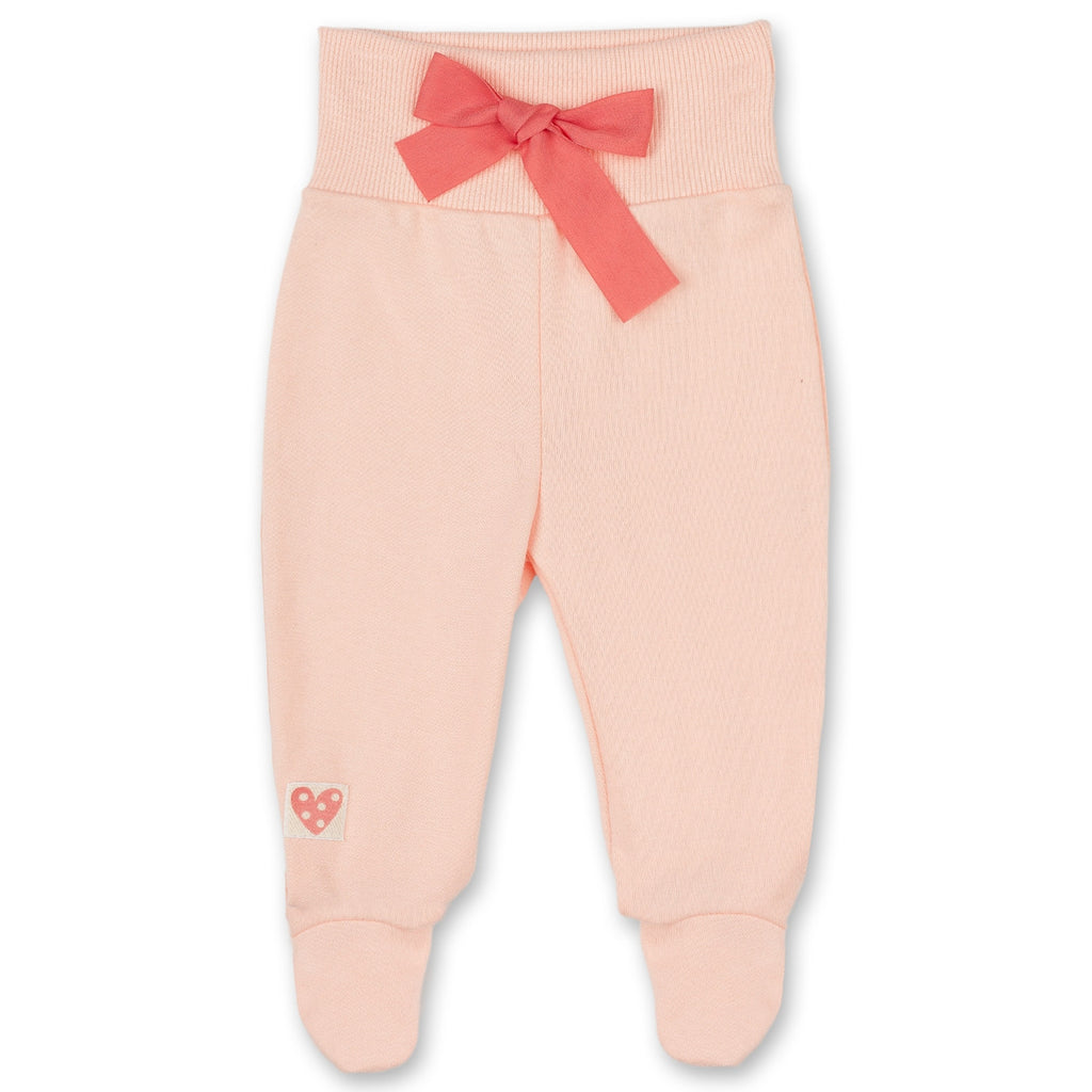 pink baby joggers