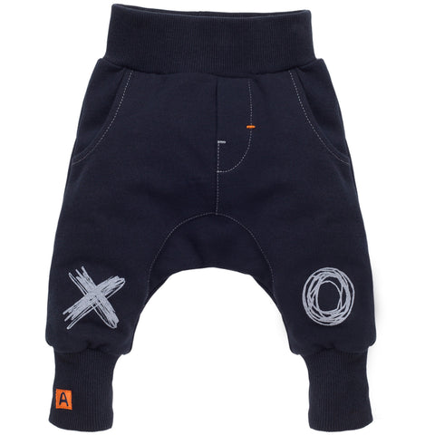 navy kids pants