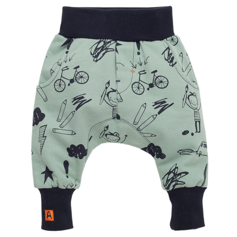 Green Kids Pants