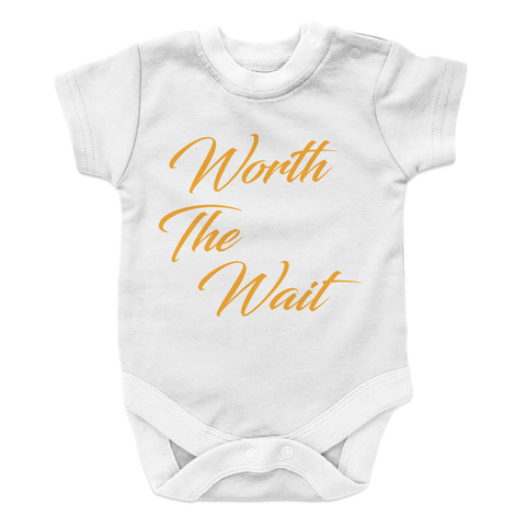 Worth The Wait Onesie - Cool Grandmas