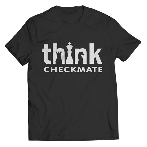 Think Checkmate T-shirt - Cool Grandmas