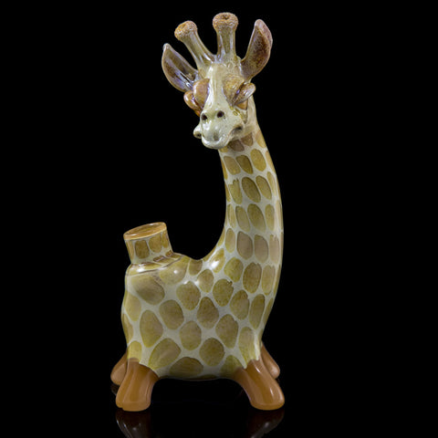 Matt Robertson Peach Giraffe (from the colorful Giraffe Series)