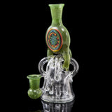 Streett Glass Quad Downstem Banger Hanger