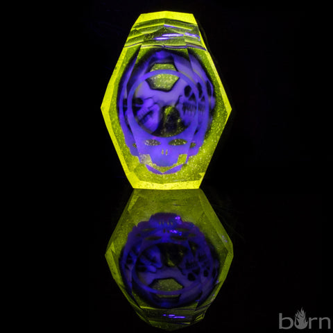 AKM Faceted Yellow UV Pendant