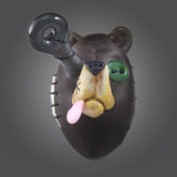Peter Muller & Coyle Bear Head Pendant (Brown)