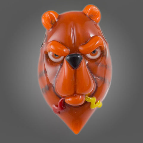 Coyle & Coldberger Bear Head Pendant