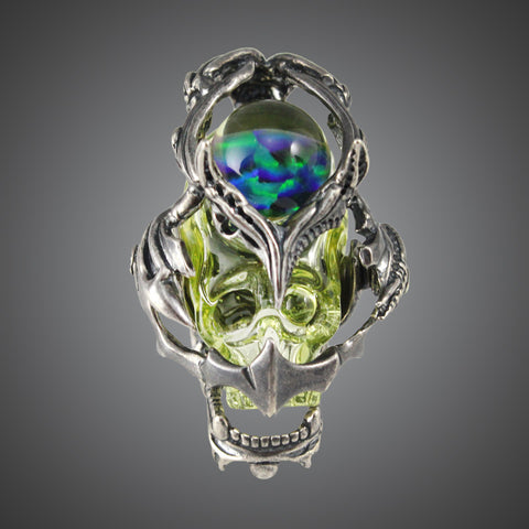Aquariust Caged Skull UV Pendant (Large)