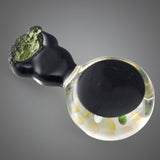 Justin Carter Diamond Opal with Moldavite Pendant