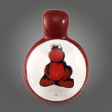 Glasshopper Clear Nerd Pendant (Red)