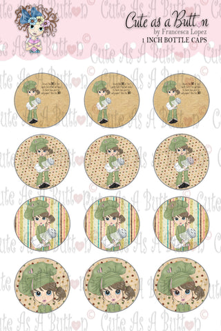 Salt Of The Earth Bottle Caps Cute As A Button Stamps