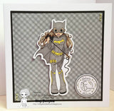Cute As A Button Designs IMG00437-Batgirl-Pre-Colored Digital Download