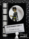 IMG00438 Catwoman Digital Digi Stamp