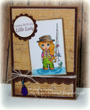 IMG00016 I Will Make You Fishers of Men - Bible Journaling Bookmark Digital Digi Stamp