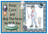 Cute As A Button Designs IMG00464 Force Be With You Digital Digi Stamp