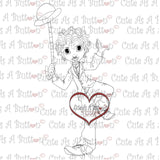RS00006 Chaplain Clear Cling Rubber Stamp