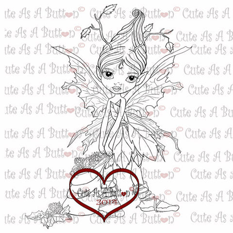 IMG00052 Autumn Fairy Digital Digistamp
