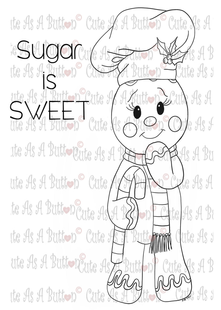 IMG00080 Sugar Is Sweet Digital Digi Stamp