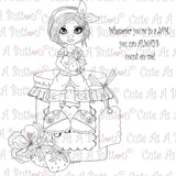 Cute As A Button DigistampsIMG00318 Strawberry Jam Digi Stamp