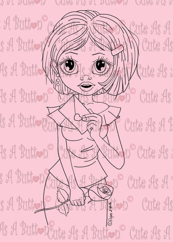 Cute As A Button Designs IMG00440 Especially for You Digital Digi Stamp
