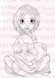 Cute As A Button Designs IMG00497 I'm Sweet On You Digital Digi Stamp