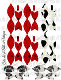 PL00001 Cruella Pocket Pal Letter KIT Instant Download