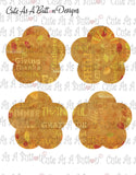Cute As A Button Designs PL00004 Fall Fun Pocket Letter KIT Instant Download