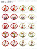 PLR00001 Christmas Planner Stickers