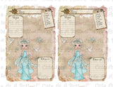 PLR00007 Winter Diary Pages Journal Pages