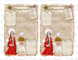 PLR00006 Christmas North Pole Diary Pages Journal Pages