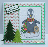 IMG00012 Penguin  Digital Digi Stamp