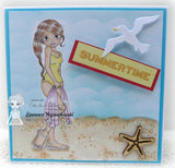 IMG00409 Beach Day Digital Digi Stamp