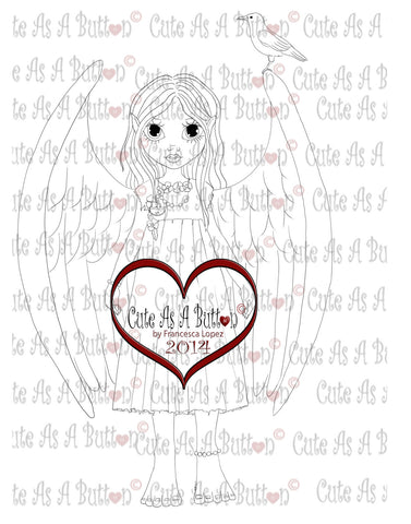 Cute As A Button Digistamp Queen Fairy Tatiana Digistamp