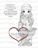 IMG00144 Mary Did You Know - Bible Journaling Bookmark Digital Digi Stamp