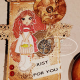 IMG00015 The Harvest Is Ready - Bible Journaling Bookmark Digital Digi Stamp
