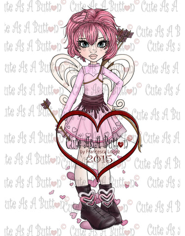 IMG00170 Pre-colored Cupid Digi stamp