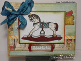 IMG00019 Rocking Horse  Digital Stamp