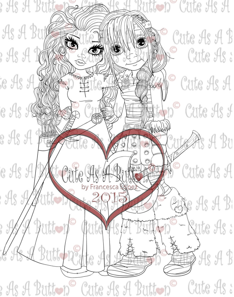 IMG00266 Besties - A Sweet Friendship Digital Digi Stamp