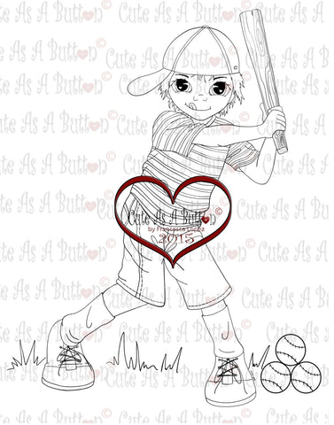 IMG00245 Sandlot Slugger Digital Digi Stamp
