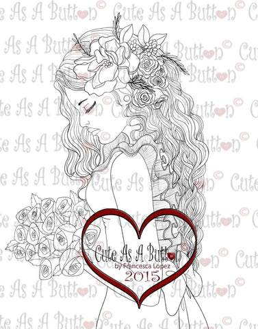 IMG00234 Wedding Day Digital Digi Stamp