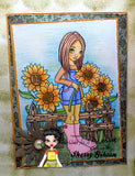 IMG00593-Sunflower Digital Digi Stamp