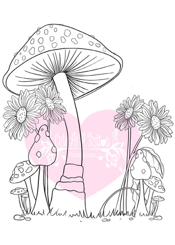 IMG00561-Pixie-Fairy-Background Digital Digi Stamp