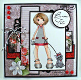 IMG00053 Sassy and Me Bible Bookmarks Bible Journaling Digital Digi Stamp Instant Download