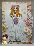 IMG00205 Angelica - The Bride of Christ - Bible Journaling Bookmark Digital Digi Stamp