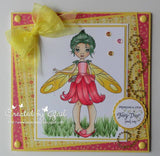 IMG00066 Pixie Fairy Digital Digi Stamp