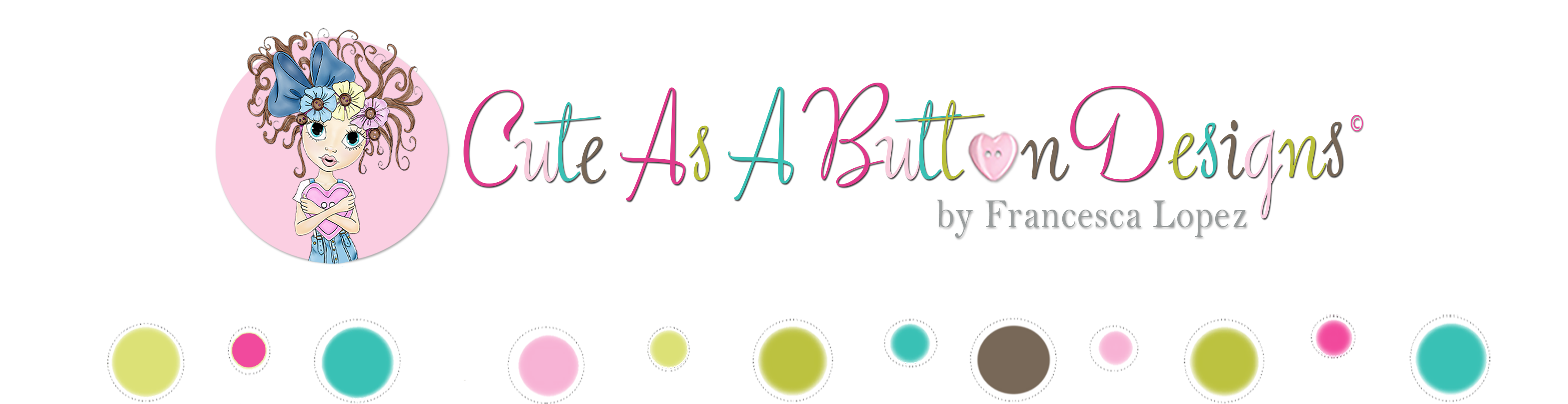 Cute As A Button Designs