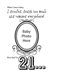 Birthday Baby Photo Tee