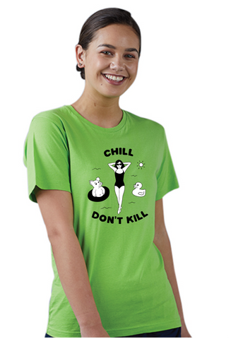 Chill Don't Kill - Vegan Society
