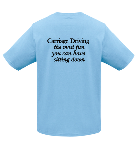 Canterbury Harness Horse Tee (Front and Back Print)