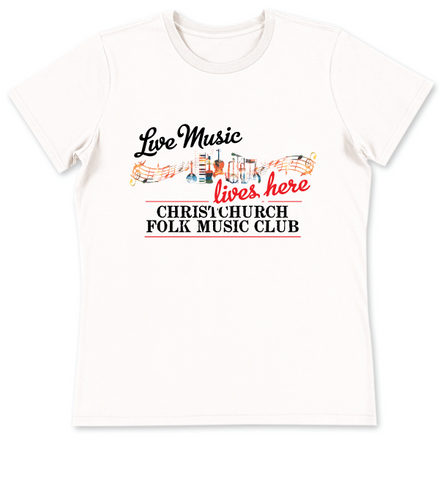 Christchurch Folk Club Tee